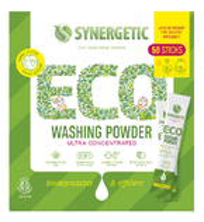 SYNERGETIC Washing Powder Biodegradowalny koncentrat proszku do prania 50 saszetek