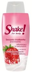 Shake for Body Odświeżający żel pod prysznic Truskawka 300ml