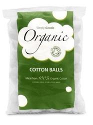 Simply Gentle 100% organiczne waciki w kulkach ok. 100szt