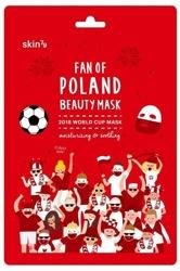 Skin79 Fan Of Poland Beauty Mask Nawilżająco-kojąca Maska Kibica World Cup 2018