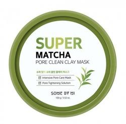 SomeByMi SUPER MATCHA Pore Clean Clay Mask Maska z glinką zwężająca pory 100g