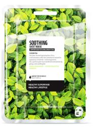 SuperFood For Skin Łagodząca maseczka w płachcie Green Tea