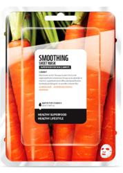 SuperFood For Skin Wygładzająca maseczka w płachcie Carrot