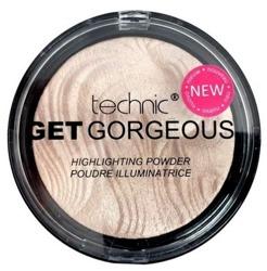 Technic Get Gorgeous Highlighting Powder - Rozświetlacz do twarzy