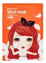 The Orchid Skin Orchid Flower Vital Mask Rewitalizująca maska w płachcie