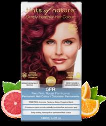 Tints of Nature Farba do włosów 5FR Ognista czerwień