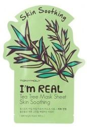 TonyMoly I`m Real Tea Tree Mask Soothing Maska do twarzy w płachcie