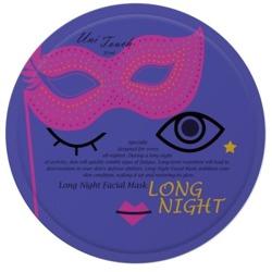 UNITOUCH Miss ô Long Night Facial Mask Rewitalizująca maseczka w płachcie 16ml