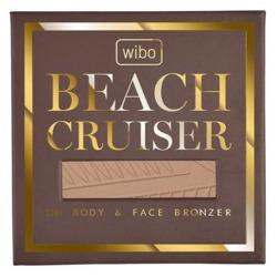 Wibo Beach Cruiser Bronzer Perfumowany bronzer do twarzy i ciała 02 Cafe Creme 16g