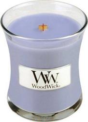 WoodWick świeca mała Lavender Spa 85g