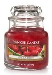 Yankee Candle Black Cherry Świeca zapachowa słoik mały 104g