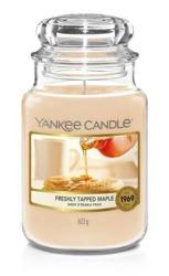 Yankee Candle Świeca zapachowa Słoik duży Freshly Tapped Maple 623,7g