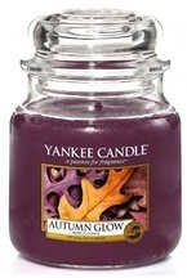 Yankee Candle Świeca zapachowa Słoik średni Autumn Glow 411g
