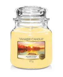 Yankee Candle Świeca zapachowa Słoik średni Autumn Sunset 411g