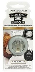 Yankee Candle Vent Clip - Odświeżacz samochodowy Soft Blanket