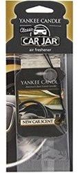 Yankee Candle car jar - Odświeżacz samochodowy New Car Scent Zawieszka 1szt.