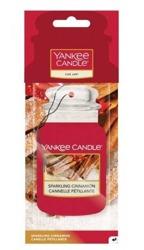 Yankee Candle car jar Odświeżacz samochodowy Sparkling Cinnamon 1szt.