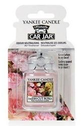 Yankee Candle car jar Ultimate Odświeżacz samochodowy Zawieszka słoik Fresh Cut Roses 1szt.
