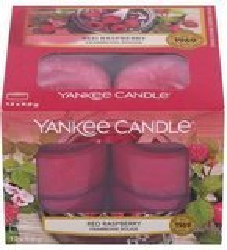 Yankee Candle tealight red Raspberry 12x9,8g