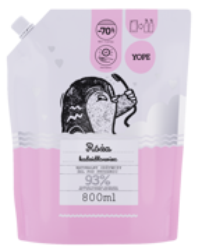 Yope Naturalny odżywczy żel pod prysznic Róża i Kadzidłowiec REFILL 800ml