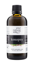 Your Natural Side Olej konopny 100% naturalny 100ml
