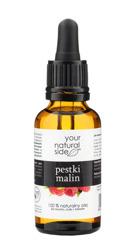 Your Natural Side Olej z pestek malin 100% naturalny 30ml Pipeta