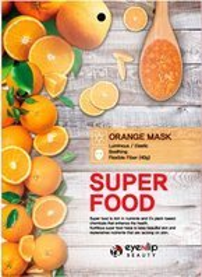 eyeNlip Beauty SuperFood Orange Maska w płachcie o działaniu rozświetlającym, uelastyczniającym i kojącym 23ml