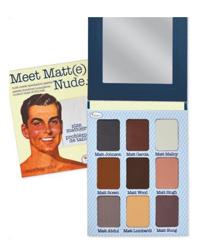 theBalm Meet Matt(e) Nude - Paleta 9 matowych cieni do powiek