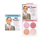 theBalm Will Powder Blush Quad Paleta róży do policzków 10g