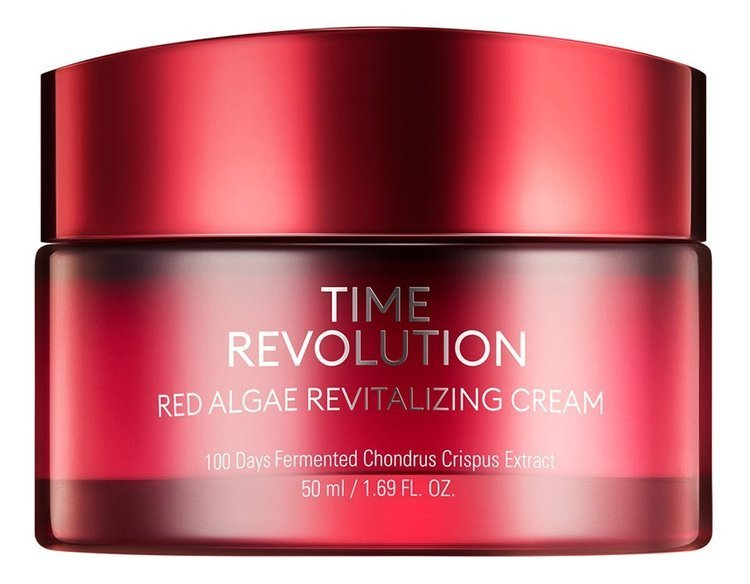 Missha Time Revolution Red Algae Revitalizing Cream Rewitalizujący ...