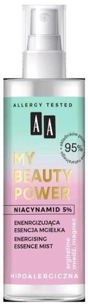 AA My Beauty Power esencja-mgiełka energizująca 100ml