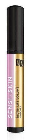 AA SENSI-SKIN Biotin Lift Volume Mascara Pogrubiający tusz do rzęs 8ml