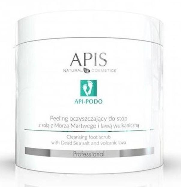 APIS Oczyszczający Peeling do stóp z Solą z Morza Martwego 700g