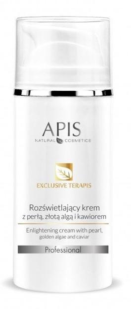 APIS Professional- Rozświetlający krem ze złotą algą, perłą i kawiorem 100 ml