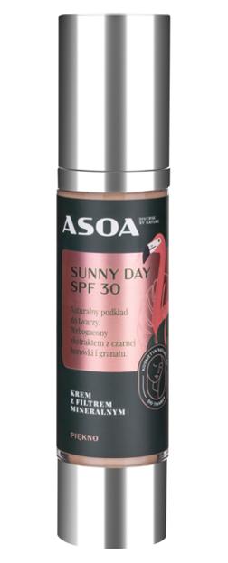 ASOA krem-podkład z filtrem mineralnym Sunny Day SPF30 50ml