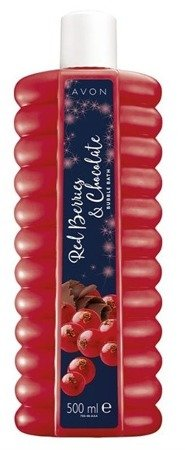 AVON Płyn do kąpieli Red Berries&Chocolate 500ml