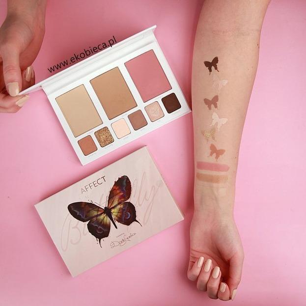 Affect Butterfly Paleta do makijażu