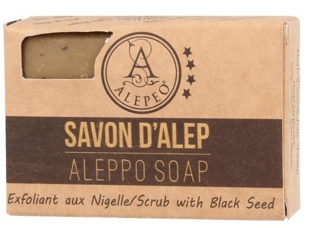 Alepeo Aleppo Soap Exfoliant aux Nigelle Naturalne mydło Aleppo 100g