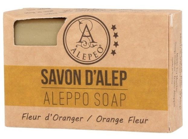 Alepeo Aleppo Soap Fleur d'Oranger  Naturalne mydło Aleppo 100g