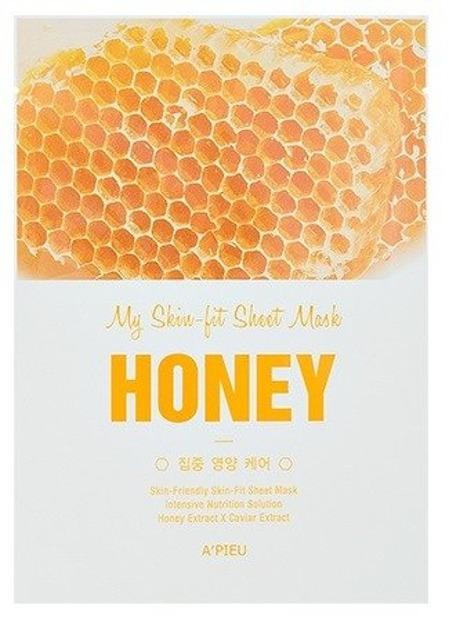 A'pieu My Skin Fit Sheet Mask Odżywcza maseczka w płachcie HONEY