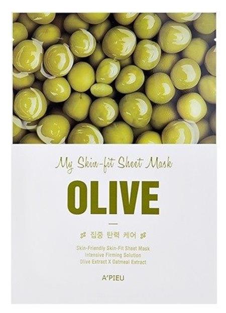 A'pieu My Skin Fit Sheet Mask Regenerująca maseczka w płachcie OLIVE
