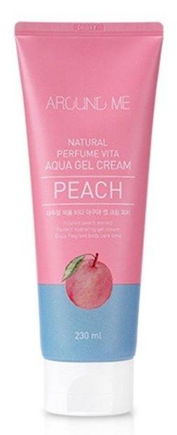 Around Me Natural Perfume Vita Aqua Gel Cream  Peach Kojący żel do twarzy i ciała 230ml