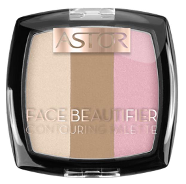 Astor Face Beautifier Paletka do konturowania 001 Light