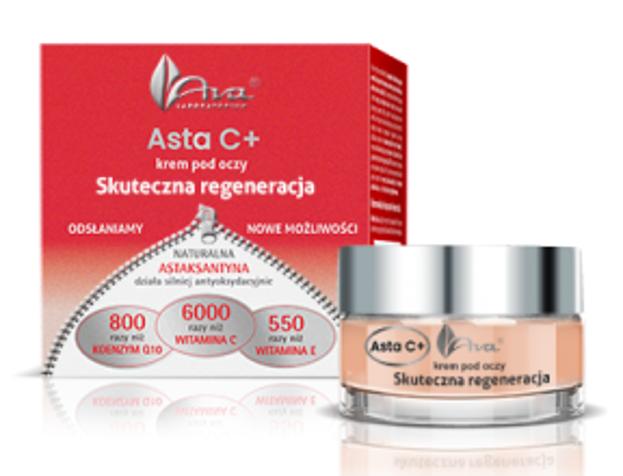 Ava Asta C+ Skuteczna regeneracja Krem pod oczy 15ml