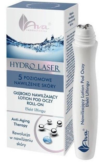 Ava Hydro Laser Głęboko nawilżający lotion pod oczy Roll-on 15ml