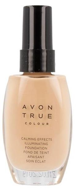 Avon True Colour Podkład rozświetlająco-antystresowy CREAM 30ml