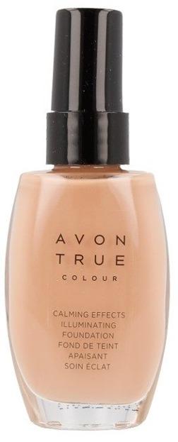 Avon True Colour Podkład rozświetlająco-antystresowy WARMEST BEIGE 30ml