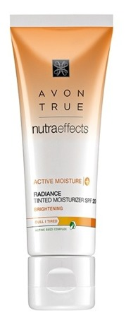 Avon True Natura Effects Nawilżająco-koloryzujący krem na dzień do twarzy 50ml