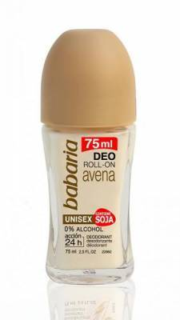 BABARIA Dezodorant roll-on Owies/Soja 75ml