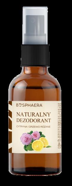 BOSPHAERA Naturalny dezodorant cytryna i drzewo różane 50ml